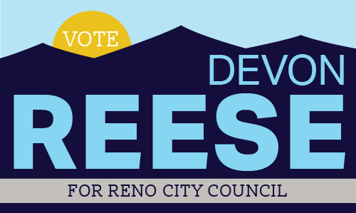 Vote Devon Reese for Reno City Council